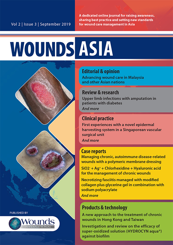 Wounds Asia latest issue - Wounds Asia