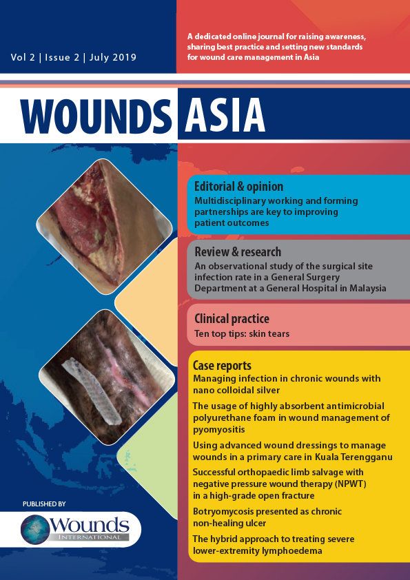 All journals - Wounds Asia